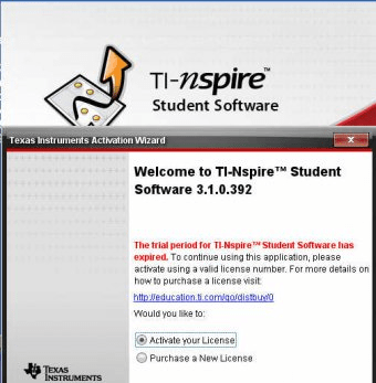 TI-Nspire (TM) Student Software