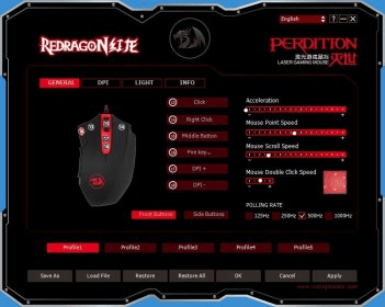 Redragon Gaming Mouse Software Informer It Is A Free Program That Enables You To Configure Your Gaming Mouse