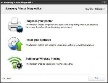 Printer diagnostics samsung mac download