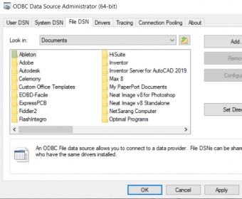 Dsn Oracle Odbc Drivers For Mac