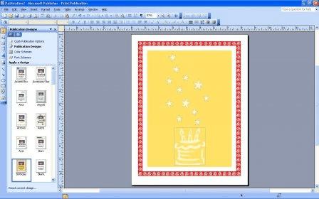 любом создание открытки паблишер 2007 мужчина моря доступна