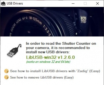 Free shutter count software canon camera