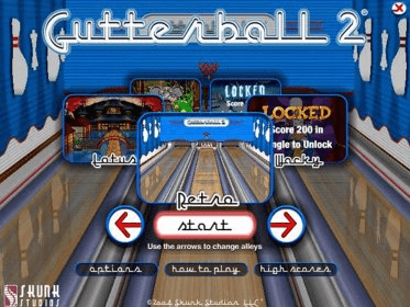 Gutterball 2 Download Entertain And Challenge Your Perfect Score In A Bowling Game