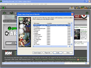 gamespy arcade 2.0.5