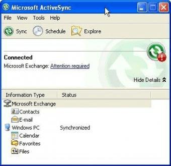 microsoft activesync 3.8
