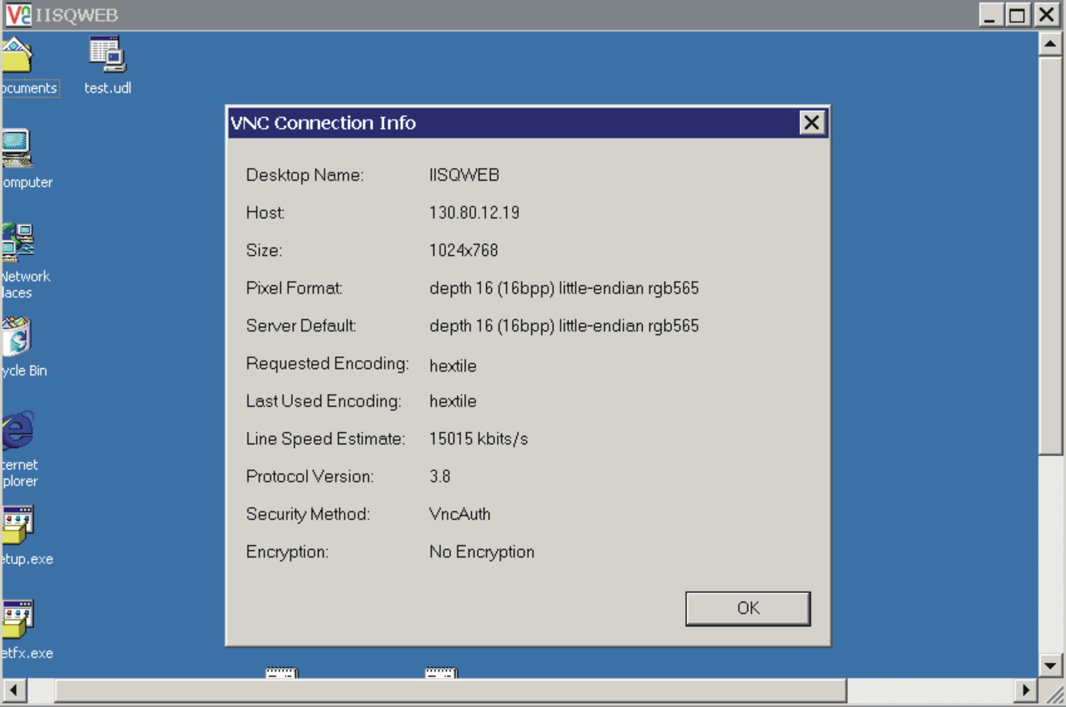 Controlling a remote server