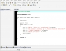 Developing a simple application in Dev-C++ 5