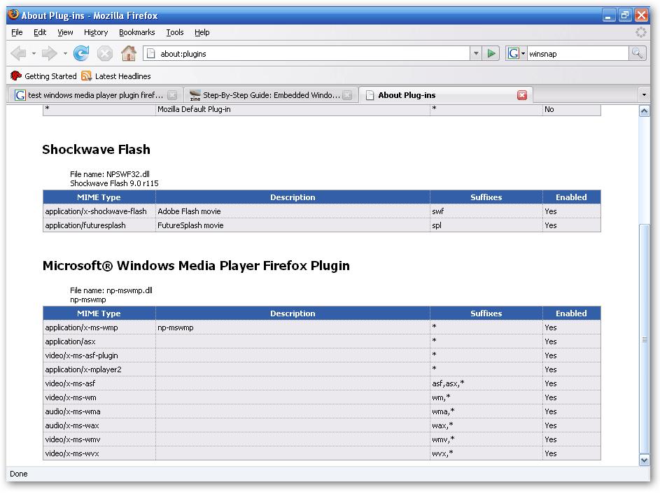 Windows Media Player Firefox Plugin Download - Essential