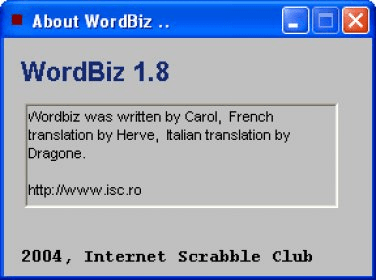 1.8 TÉLÉCHARGER ISC.RO-WORDBIZ
