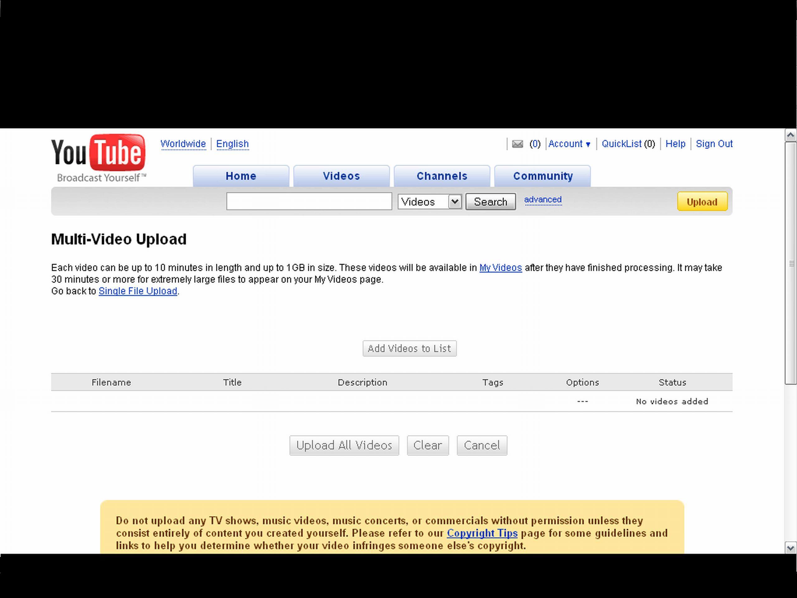 YouTube Uploader Download - With Youtube Uploader 1 0 you
