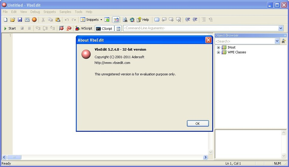 Adersoft VbsEdit  Get the software safe and easy
