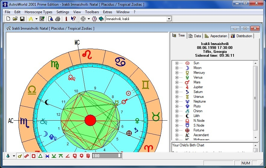 Astro-World for Windows 6 1 Download (Free) - ASTRO EXE
