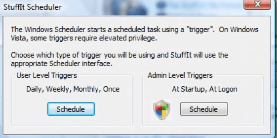 StuffIt Deluxe 9 0 Download - Scheduler exe