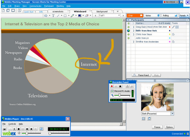Cisco WebEx Meeting Center Download - With this program you