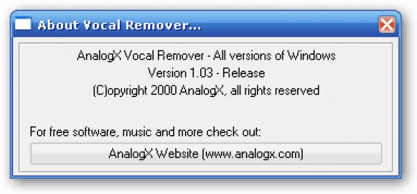 Vocal Remover Software - Free Download Vocal Remover - Top