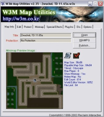 W3M Map Utilities - Software Informer  A tool for editing maps
