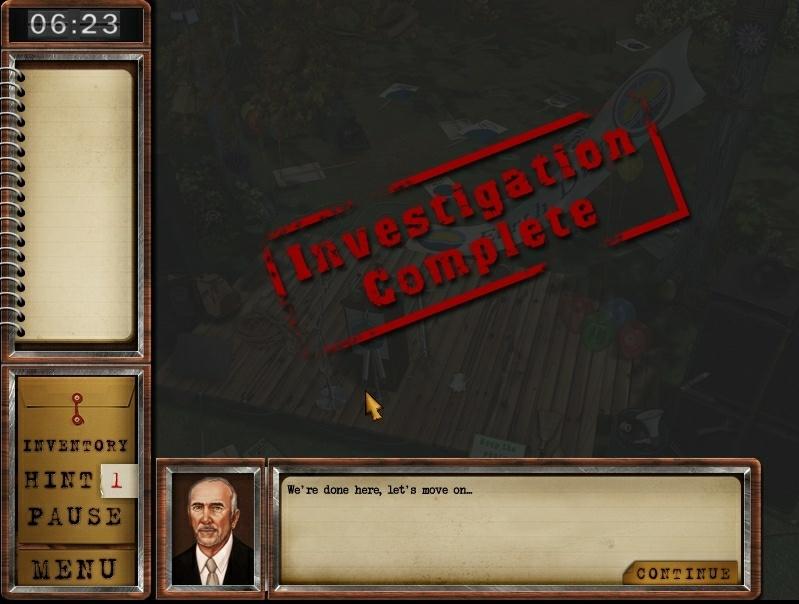 Investigation complete