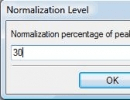 Normalize audio files.