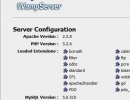 Wampserver Information Page
