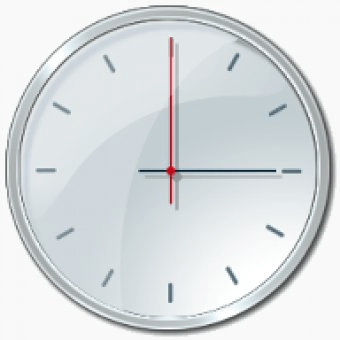 analogue vista clock 1.09