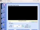 Main screen with video player