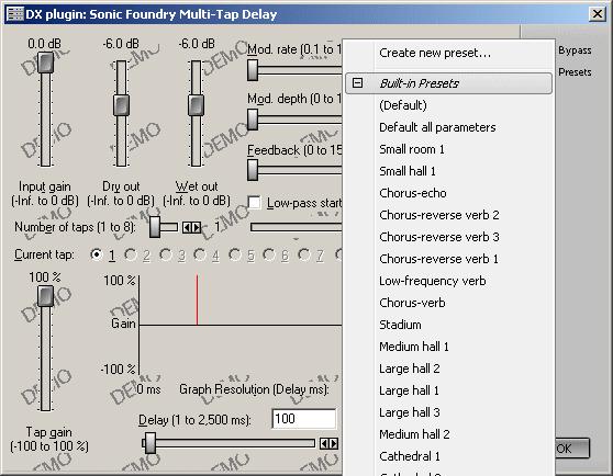 Multi-Tap Delay