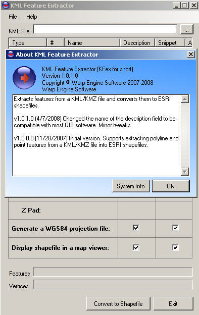 KML Feature Extractor Download - Designed to extract the