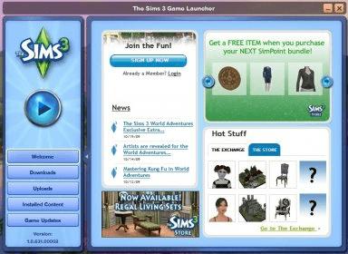 Sims3launcher exe скачать