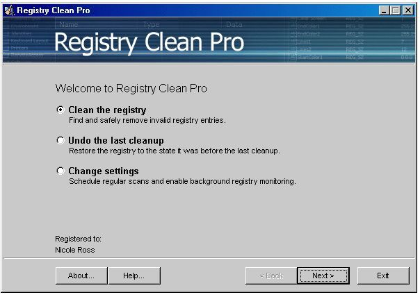 Welcome to Registry Pro