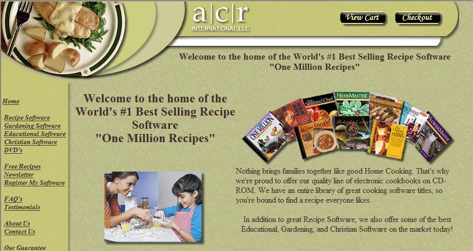 ACR Web Page