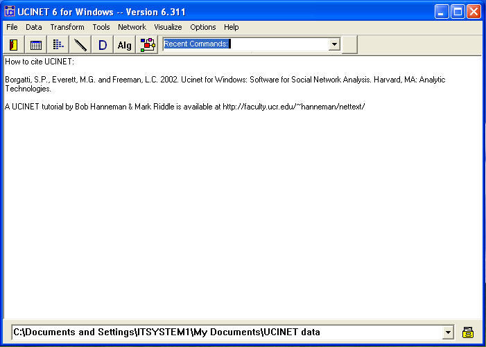 Ucinet for Windows  Get the software safe and easy