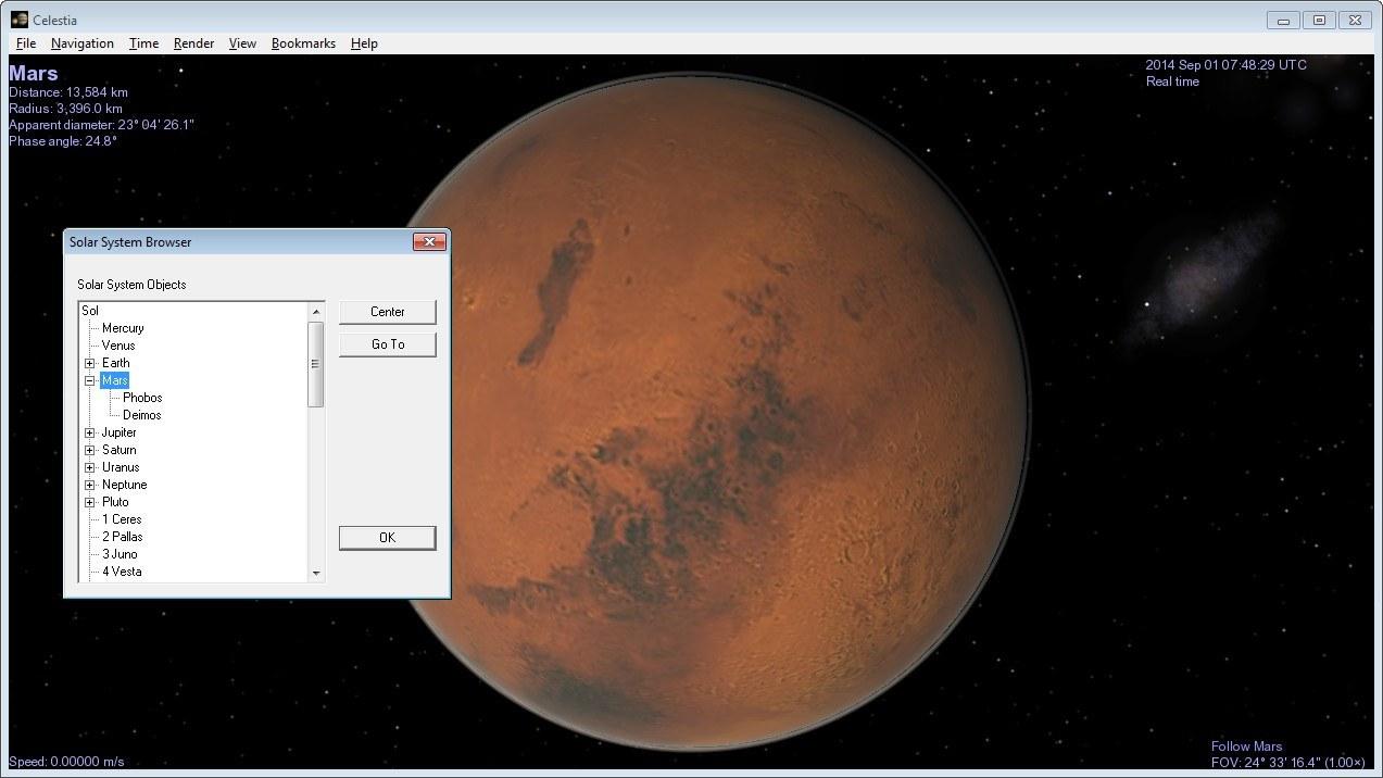 Solar System Browser