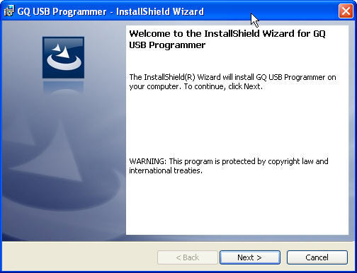 GQ USB Programmer 6 1 Download (Free) - USBPrg exe