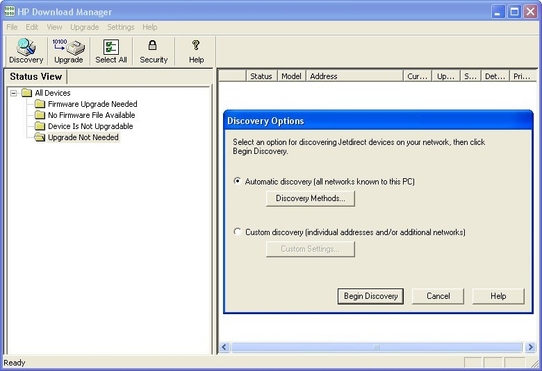 HP Download Manager 4 3 Download (Free) - hpjdwnld exe