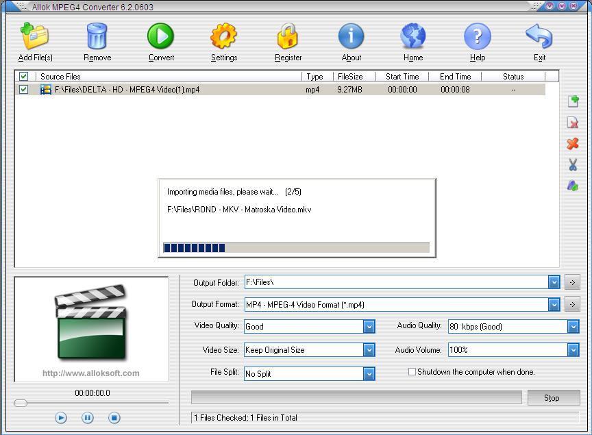 Importing Media Files