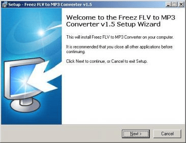 freez flv to mp3 converter 1.2