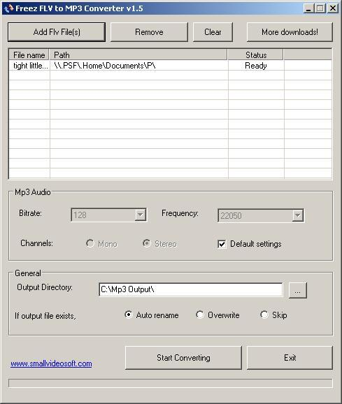 FREEZ CONVERTER 1.2 FLV TÉLÉCHARGER TO MP3