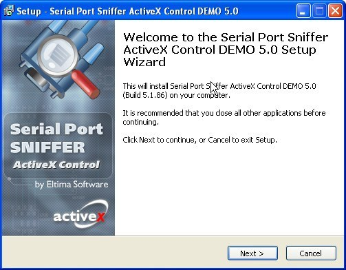 Serial Port Sniffer ActiveX Control DEMO (Build 4 0 0 74