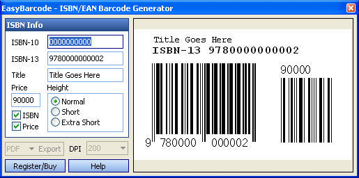 Easy Barcode  Get the software safe and easy