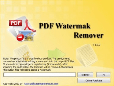 PDF Watermark Remover - Software Informer  It's a quick and easy way