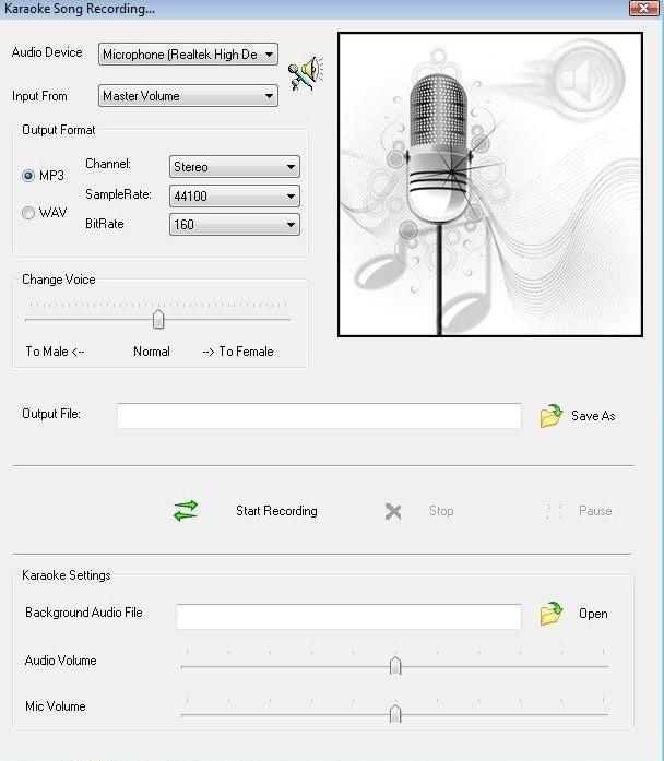 Karaoke Recorder