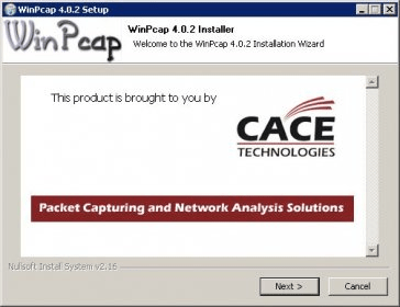 winpcap 4.1.1