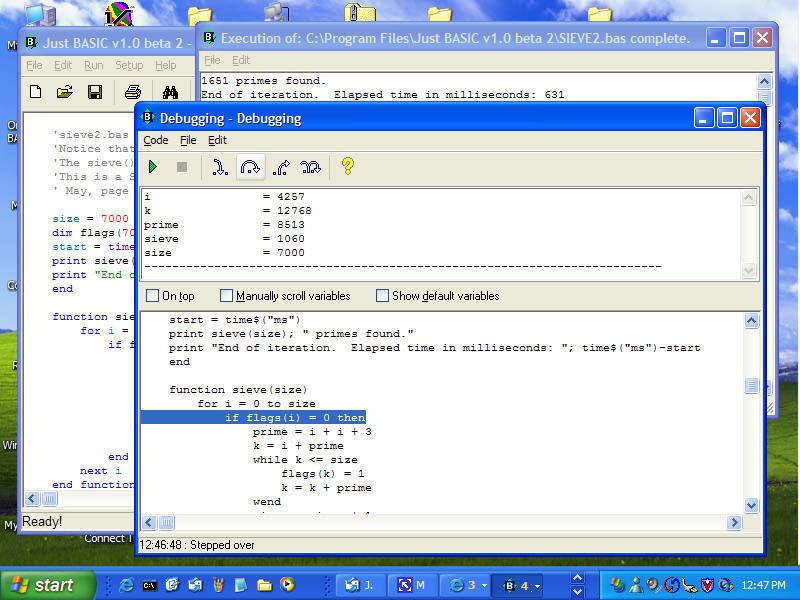 Just BASIC Download Free Version (jbasic exe)