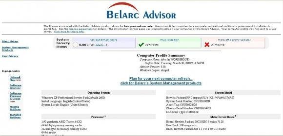 Belarc advisor for mac
