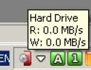 Hard drive activity