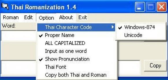 Thai Romanization Download - Romanize any text in Thai