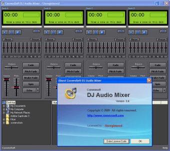 GRATUIT MIXER AUDIO CONVEXSOFT TÉLÉCHARGER DJ