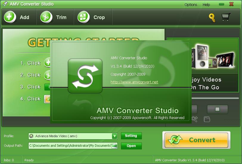 AMV Converter Studio  Get the software safe and easy