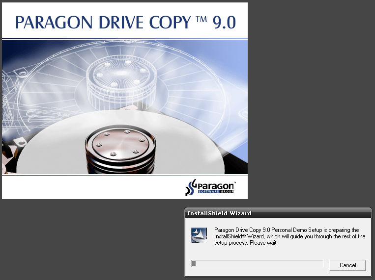 Paragon Drive Copy™ 8 5 Download (Free trial) - launcher exe
