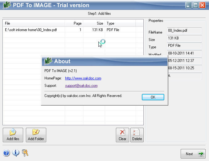 PDF to IMAGE  Get the software safe and easy